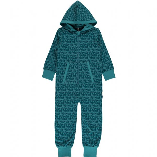 Maxomorra Hooded Onesie Tractor (SS19)